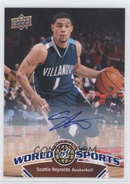 2010 Upper Deck World of Sports Autograph [Autographed] #50 - Scottie Reynolds