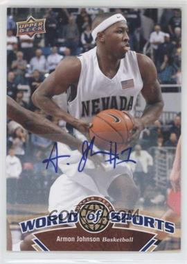 2010 Upper Deck World of Sports Autograph [Autographed] #55 - Armon Johnson