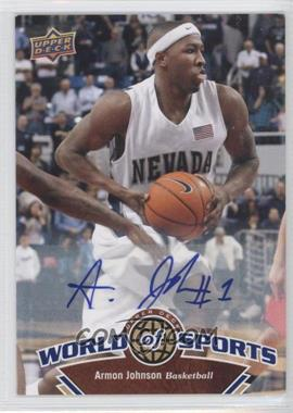 2010 Upper Deck World of Sports Autograph [Autographed] #55 - Armon Johnson