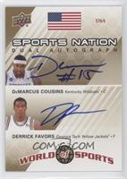 DeMarcus Cousins, Derrick Favors /50