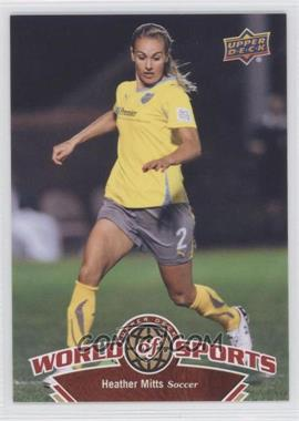 2010 Upper Deck World of Sports #107 - Heather Mitts
