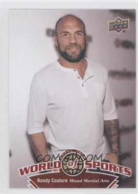 2010 Upper Deck World of Sports #255 - RANDY COUTURE