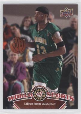 2010 Upper Deck World of Sports #336 - Lebron James
