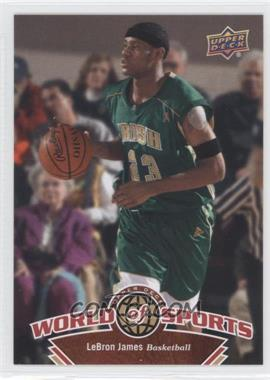 2010 Upper Deck World of Sports #336 - Lebron James