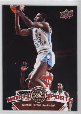 2010 Upper Deck World of Sports #337 - Michael Jordan