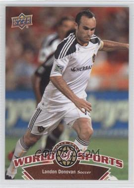 2010 Upper Deck World of Sports #62 - landon donovan