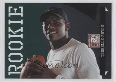 2011 Donruss Elite National Convention Status Green #7 - Terrelle Pryor /5