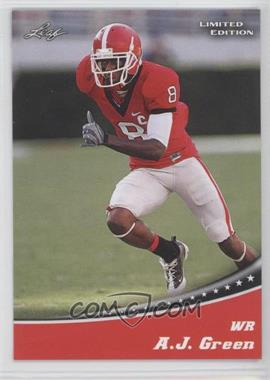 2011 Leaf Limited Edition [???] #1 - A.J. Green