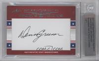 Denny Crum, Jim Calhoun /1 [BGS AUTHENTIC]