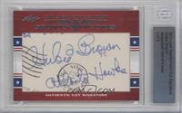 Hubie Brown /2 [BGS AUTHENTIC]