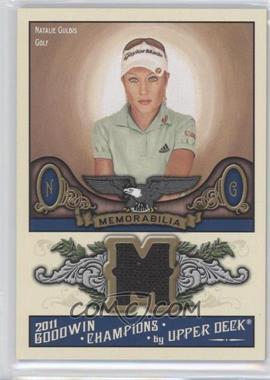 2011 Upper Deck Goodwin Champions - Authentic Memorabilia #M-NG - Natalie Gulbis