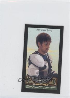 2011 Upper Deck Goodwin Champions - [Base] - Mini Red Lady Luck Back #77 - John Tavares