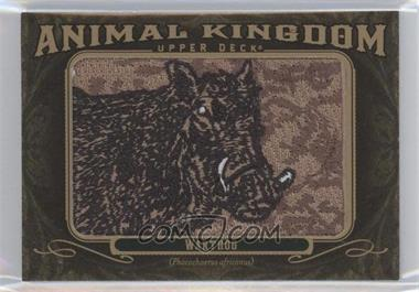 2011 Upper Deck Goodwin Champions - Multi-Year Issue Animal Kingdom Manufactured Patches #AK-38 - Warthog