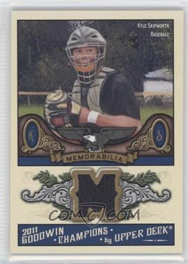 2011 Upper Deck Goodwin Champions Authentic Memorabilia #M-KS - Kyle Skipworth
