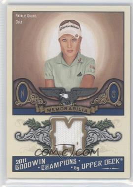 2011 Upper Deck Goodwin Champions Authentic Memorabilia #M-NG - Natalie Gulbis