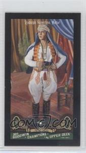 2011 Upper Deck Goodwin Champions Mini Red Lady Luck Back #123 - Rudolph Valentino