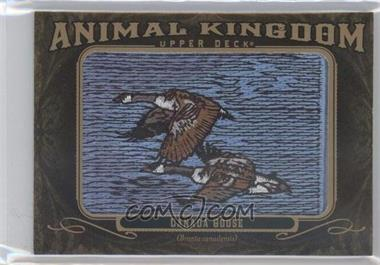 2011 Upper Deck Goodwin Champions Multi-Year Issue Animal Kingdom Manufactured Patches #AK-20 - Canada Goose