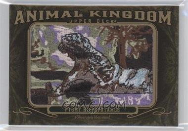 2011 Upper Deck Goodwin Champions Multi-Year Issue Animal Kingdom Manufactured Patches #AK-83 - Pygmy Hippopotamus