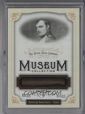 2011 Upper Deck Goodwin Champions Museum Collection Relics #MR-NB - Napoleon Bonaparte
