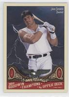 Jose Canseco (Dark Storm Background)