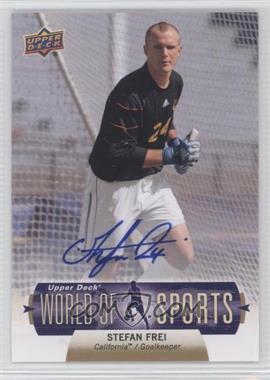 2011 Upper Deck World of Sports - Autographs #234 - Stefan Frei