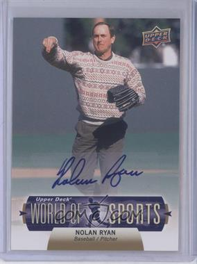 2011 Upper Deck World of Sports - Autographs #304 - Nolan Ryan