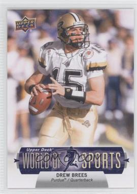 2011 Upper Deck World of Sports - [Base] #140 - Drew Brees