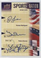 Yorman Rodriguez, Pedro Alvarez, Jordan Lyles /10