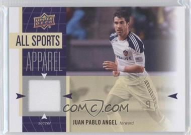 2011 Upper Deck World of Sports All-Sport Apparel #AS-JA - Juan Pablo Angel