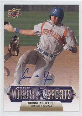 2011 Upper Deck World of Sports Autographs #23 - Christian Yelich