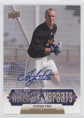 2011 Upper Deck World of Sports Autographs #234 - Stefan Frei