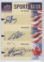 Casey Kelly, Brett Lawrie, Eric Hosmer #1/6