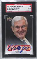 Newt Gingrich [SGC AUTHENTIC AUTO]