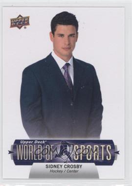2011 Upper Deck World of Sports #369 - Sidney Crosby