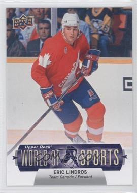 2011 Upper Deck World of Sports #373 - Eric Lindros