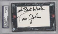 Tom Gola /15 [PSA/DNA Certified Auto]