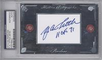 Y.A. Tittle /40 [PSA/DNACertifiedAuto]