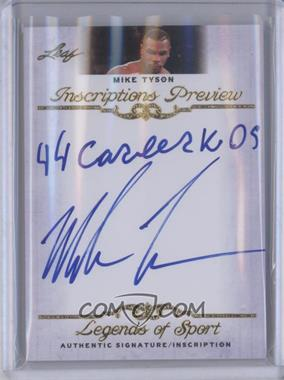 2012 Leaf Legends of Sport [???] #IP-MT1 - Mike Tyson