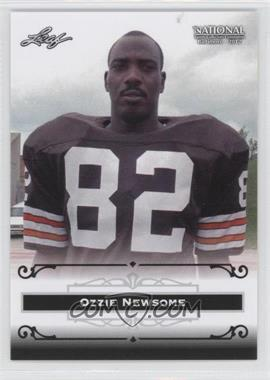 2012 Leaf National Convention - [Base] #ON1 - Ozzie Newsome