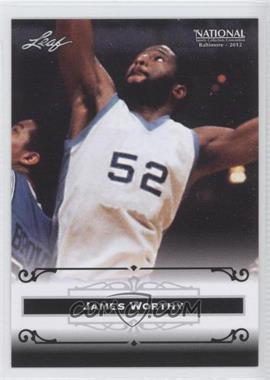2012 Leaf National Convention #JW1 - James Worthy