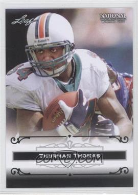2012 Leaf National Convention #TT1 - Thurman Thomas