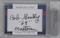Bob Goalby, Jack Burke /1 [BGS AUTHENTIC]