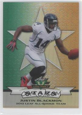 2012 Leaf Valiant Stars All-Rookie Team - [Base] #S-4 - Justin Blackmon