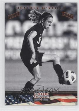 2012 Panini Americana Heroes & Legends - [Base] - Bronze Proof #96 - Heather O'Reilly /100