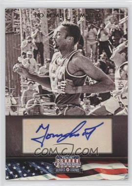 2012 Panini Americana Heroes & Legends - Elite - Signatures [Autographed] #121 - Tommie Smith /399