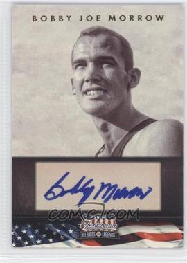 2012 Panini Americana Heroes & Legends - Elite - Signatures [Autographed] #125 - Bobby Joe Morrow /399