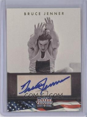 2012 Panini Americana Heroes & Legends - Elite - Signatures [Autographed] #66 - Bruce Jenner /398