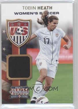 2012 Panini Americana Heroes & Legends - US Women's Soccer Team - Materials [Memorabilia] #22 - Tobin Heath /199