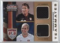 Heather Mitts, Abby Wambach /99