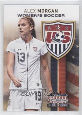 2012 Panini Americana Heroes & Legends - US Women's Soccer Team #2 - Alex Morgan